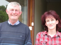 Eamon Nolan and Cathy Hannon