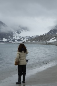 Photo: Siobhan McDonald in the Arctic