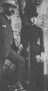 Amy Beach and her husband, Henry Harris Aubrey Beach